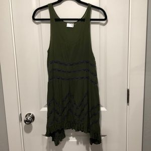 Free People slip dress/tunic